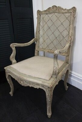 Antique French Carved Chair - Late 19th Century