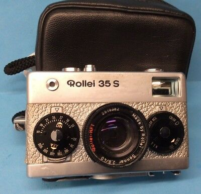 Silver Rollei 35 S Camera Limited Edition