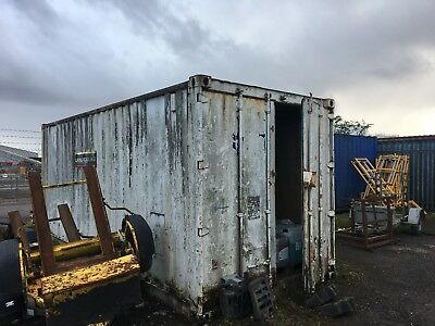 20ft Shipping Container, Lined, Not Lockable, Cardiff
