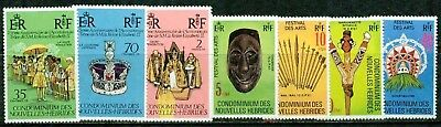 New Hebrides (Fr) – 1977-1979 – Collection  – Vf  **