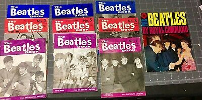 Beatles Monthly Fanzine Numbers 1-9 and Royal Command Programme