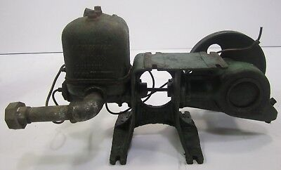 Vtg Cast Iron SY McDonald Industrial Farm Water Pump Hit Miss