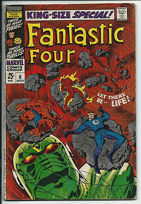 Fantastic Four Annual #6 1st Franklin Richards & 1st Annihilus! HOT COMIC! 3.5