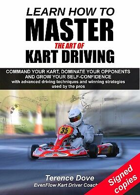 Karting Book 'Learn How to Master the Art of Kart Driving' **SIGNED Copies**