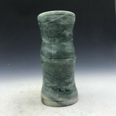 Collection of Chinese natural jade pen holder.   b712