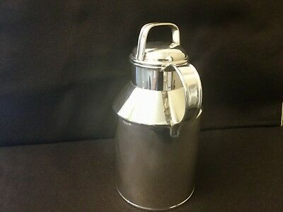 "Rare Sterling Silver Art Deco Age Udall & Ballou ""Milk Can"" Cocktail Shaker"