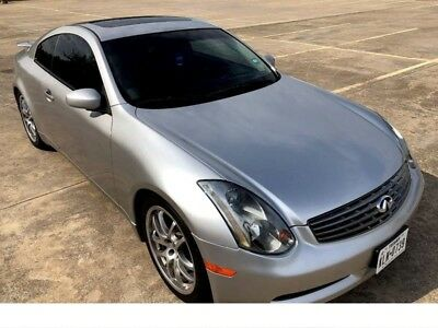 2005 Infiniti G35 RWD COUPE NO RIPS OR TEARS ADULT OWNED BLUETOOTH AND NAV OLD SCHOOL ANTIQUE MUSCLE CAR CLASSIC CAR ELEANOR Carroll Shelby Collectibles