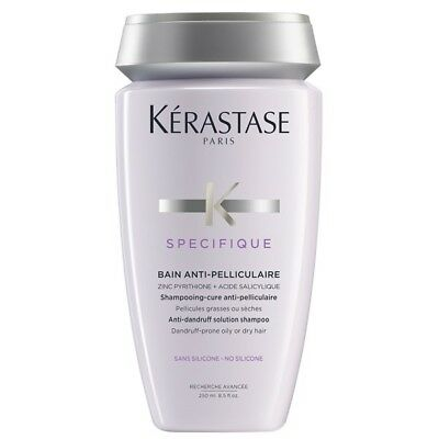 Bain Anti-Pelliculaire Shampooing Cure Anti- Pelliculaire Specifique 250 Ml