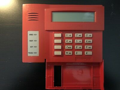 Honeywell 6160Cr Keypad Working Or For Parts - Honeywell Commercial Fire Keypad