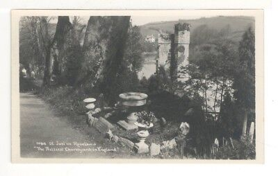 c1920 Real Photo Postcard: St Just in Roseland - Cornwall, England