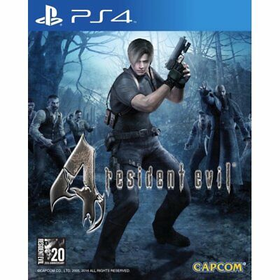 GIOCO PS4 RESIDENT EVIL 4 play station 4 MULTILINGUE