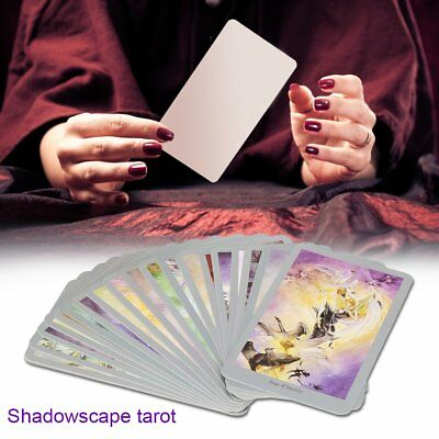 78Pcs Shadowscape Tarot Deck Future Fate Forecasting Cards Collection Gifts