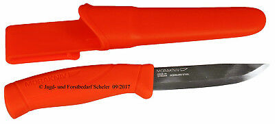 Morakniv Companion F Orange Stainless Rostfrei Mora Messer Schweden Jagd Outdoor
