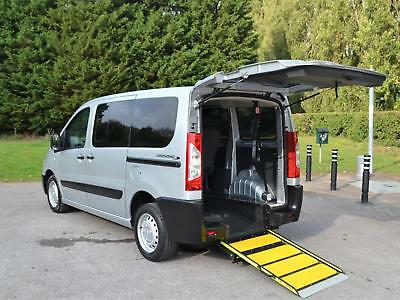 Peugeot Expert 2.0 HDi ( 98bhp ) Tepee L1 Comfort Wheelchair Accessible Vehicle
