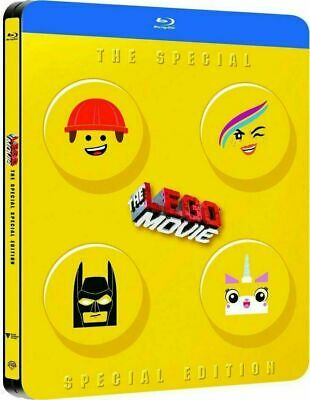 The Lego Movie: Special Edition - Limited Ed. Steelbook [Blu-ray] Rare!! New!!