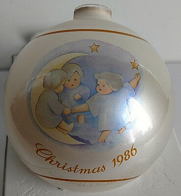 SCHMID 1986 CHRISTMAS ORNAMENT Tell the Heavens Hummel Inspired 13th Edition