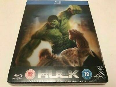 The Incredible Hulk - Limited Edition Lenticular Steelbook [Blu-ray] New!!