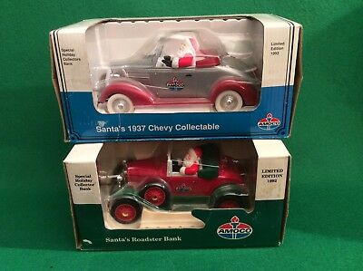 Amoco Santa Banks 1929 Model A Roadster 1937 Chevy Limited Edition