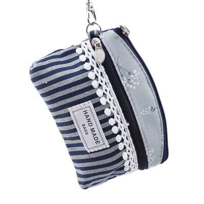 Ladies Card Coin Key Holder Zip Genuine Leather Wallet Small Pouch Bag Purse LH