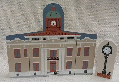Cat's Meow CItrus County Courthouse & Clock Downtown Inverness, FL Signed 180161
