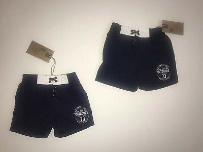 aaf09e56a MONCLER BOYS SWIMMING Shorts Navy Blue Age 2 Years / 24 M Months ...