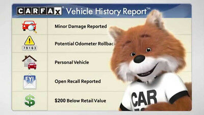 AUTHENTIC Carfax Report *INSTANT SERVICE*