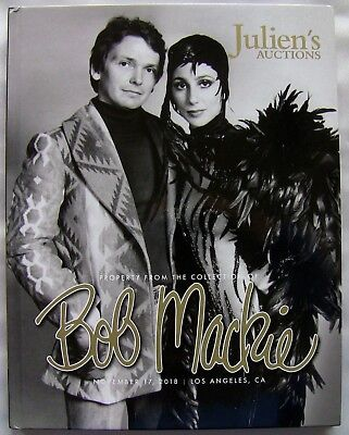 Julien's Auctions Bob Mackie Collection Hardback Catalog Cher Carol Burnett