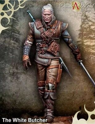 75mm Resin Figure Model Kit The White Butcher The Witcher Unassambled Unpainted