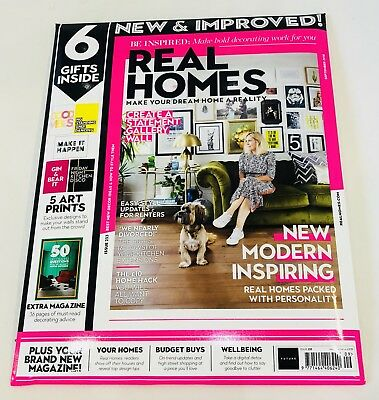 REAL HOMES Magazine September 2018 With 6 FREE GIFTS INSIDE! (NEW)