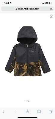 Infant Boys Columbia Hooded Jacket Size 3-6 Months