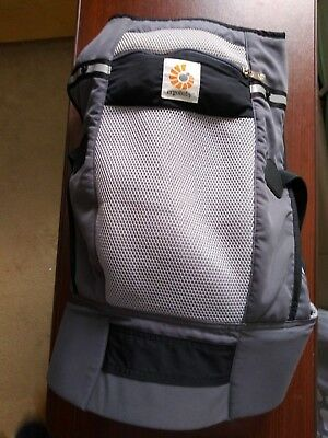 Ergobaby 360 Cool Air Baby Carrier - Carbon Grey