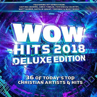 WOW Hits 2018 Deluxe Edition Christian Various Artists 2 CD 39 Hits New Sealed
