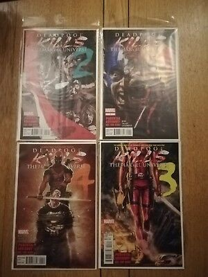 Deadpool Kills The Marvel Universe Complete 1 - 4 ( 2 3 )