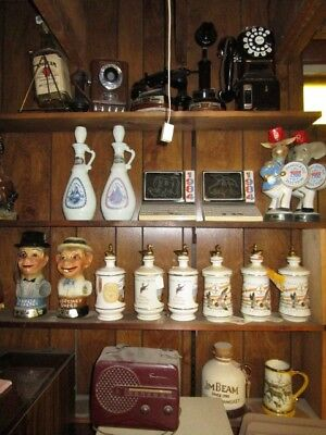 Vintage Cabin Still Ducks Unlimited and Wildlife Decanters