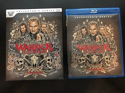 Warlock 1-3 Collection (Blu-ray Disc, 2017, 3-Disc Set) - With Slipcover - LN