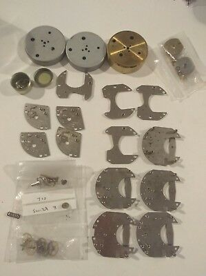 Vintage Clock Watch Parts Swiza L. Schwab S.A For Clock Repair