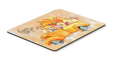 Fall Harvest Welsh Terrier Mouse Pad, Hot Pad or Trivet