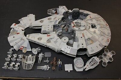 "Star Wars 2008 Millennium Falcon Legacy 3.75/"" Hasbro PART TOP QUAD GUN"