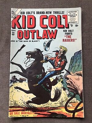 Kid Colt Outlaw 49 Golden Age Comic Book