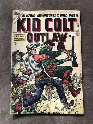 Kid Colt Outlaw 40 Golden Age Comic Book
