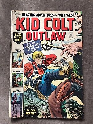 Kid Colt Outlaw 31 Golden Age Comic Book