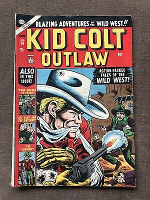 Kid Colt Outlaw 28 Golden Age Comic Book