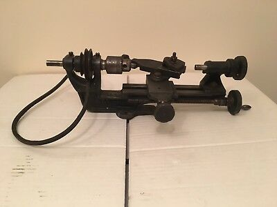 Vintage Super Adept Watchmakers Clockmakers Lathe