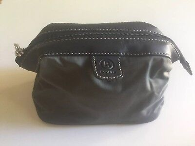 BOGNER first class amenity kit bag makeup holder purse cosmetic New