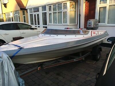 Picton speedboat and trailer