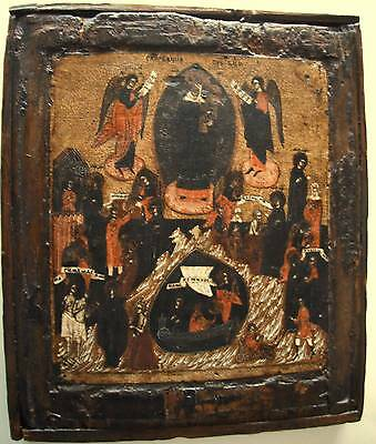 A 17th Century,Mother of God of all who sorrow/Russian Icon