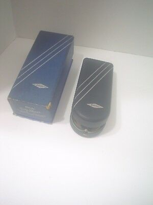 Vintage Gillette Dry Shaver, Boxed, Includes Lubricant, As Is