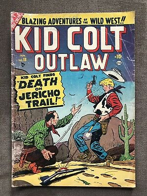 Kid Colt Outlaw 18 Golden Age Comic Book