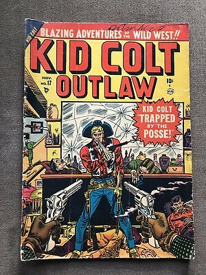 Kid Colt Outlaw 17 Golden Age Comic Book