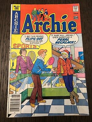 Archie #271 - Infamous Pearl Necklace/innuendo/cover